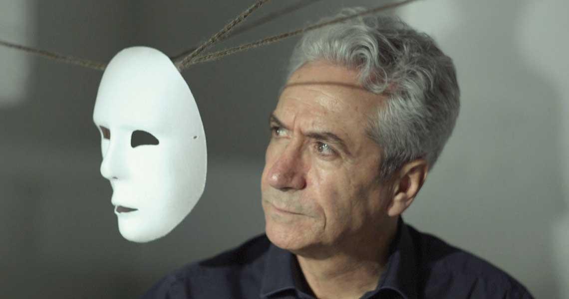 spettacolo Pirandello, maschera